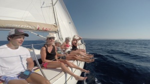 Sailing in the Aegean Sun