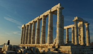 At Cape Sounion