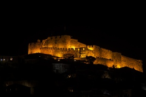 The Castle at night (Molivos)